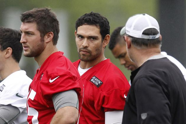 Tim Tebow: Why Jets QB Will Watch Most of 2012 from the Sideline