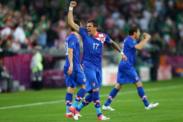Mario Mandzukic: Croatia Striker to Be Euro 2012's Biggest Beneficiary