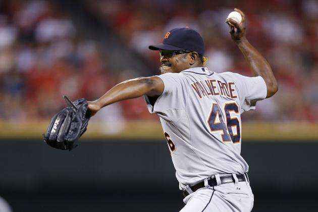 Jose Valverde: Detroit Tigers Pitcher Caught Using Spitball?