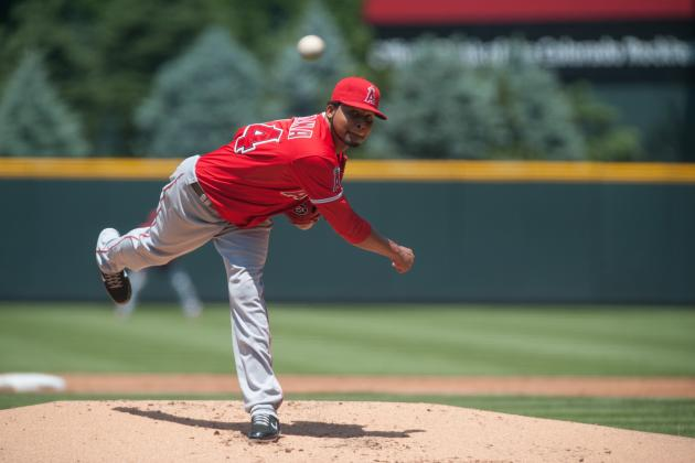 Ervin Santana: Los Angeles Angels SP Earns AL Worst of the Night Award