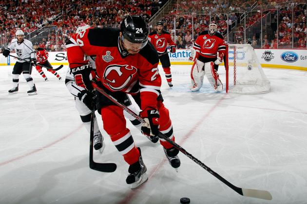 Stanley Cup Final 2012: Bryce Salvador Still Shooting, Scoring for Devils