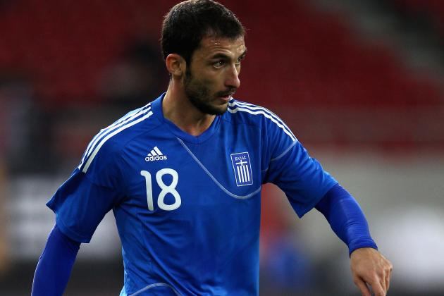 Greece Lose Another to Injury Before Czech Republic Game