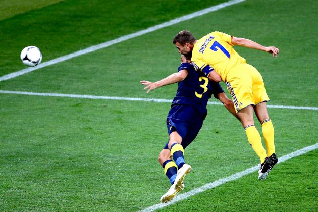 Ukraine 2-1 Sweden: As It Happened