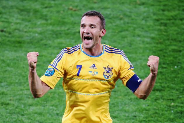 Euro 2012: Young Ukraine Fan Has Amazing Reaction to Andriy Shevchenko's Goal