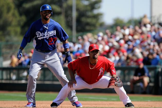 Los Angeles Dodgers Host Angels in the Real