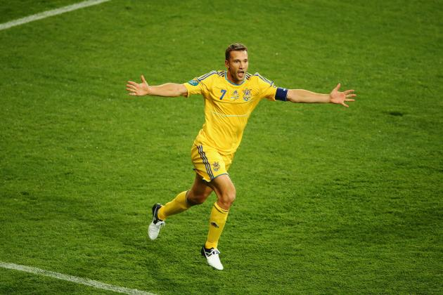 Euro 2012: Why Shevchenko's Goals Prove He's Still a World-Class Goalscorer