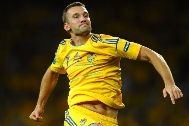 Ukraine vs. Sweden: Andriy Shevchenko Proves Age Is Just a Number with Two Goals