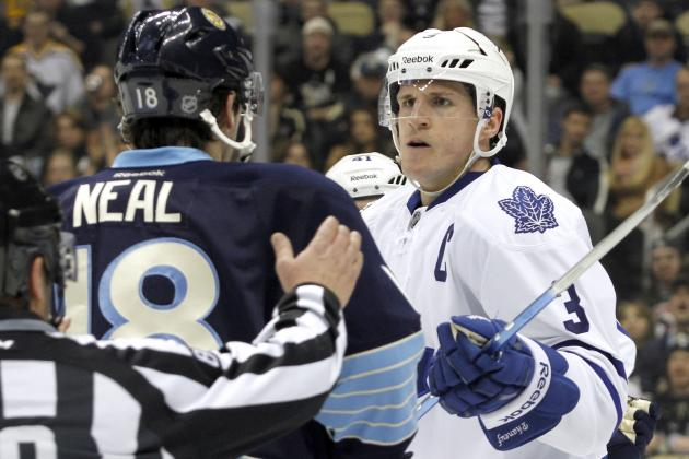 Toronto Maple Leafs 2012/13: A Changing of the Guard