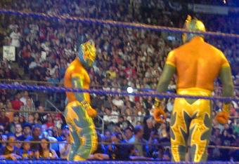 Remember when THIS was the most interesting thing Sin Cara had going on?
