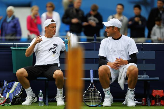 Rivals Roddick/Hewitt to Play Doubles at AEGON Championships