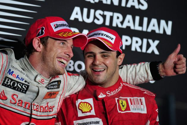 F1 2012: Felipe Massa's Troubles Shield Jenson Button from Closer Scrutiny