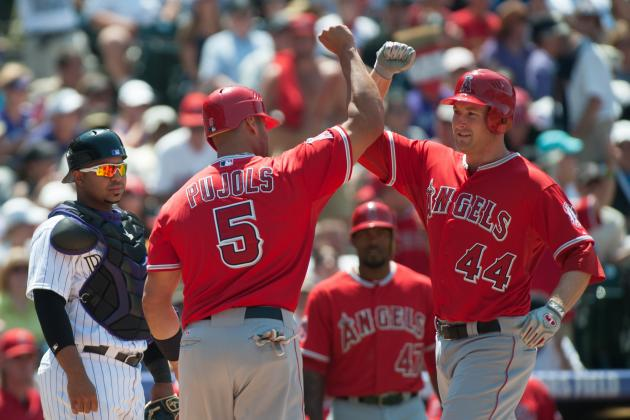 Albert Pujols Should Move to Third Base for Mark Trumbo...at Least for 2012