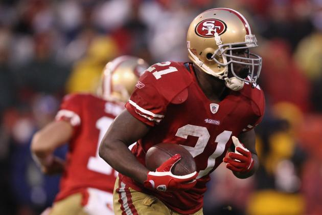 San Francisco 49ers: How Many Touches Should Frank Gore Get a Game?