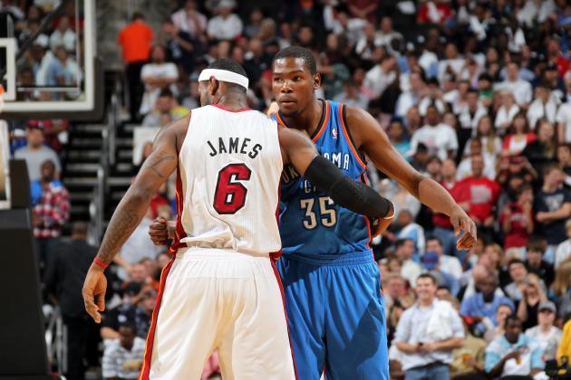 NBA Finals 2012: Preview of Key Matchup Between LeBron James & Kevin Durant