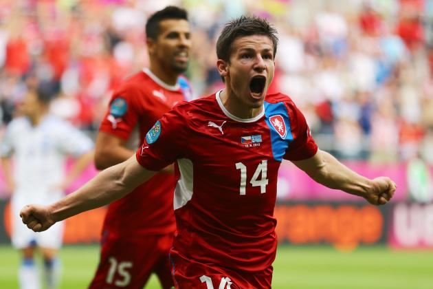 Greece 1-2 Czech Republic: As It Happened
