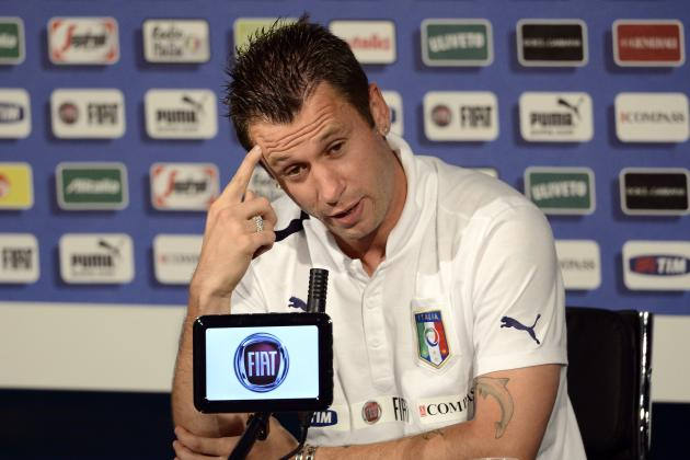 Antonio Cassano: Italy Striker Makes Controversial Anti-Gay Comments