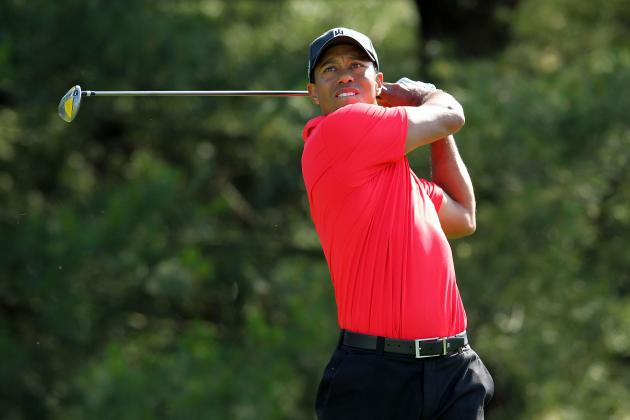 Tiger Woods: Projecting Tiger's Final Daily Scores at the 2012 US Open