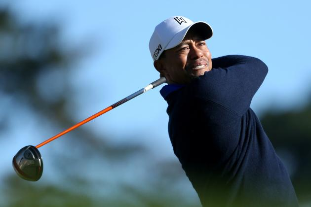 US Open Golf Predictions 2012: Tiger Woods and Stars Who Will Contend for Title