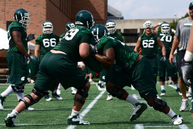 MSU Football: Allen Making Push on O-Line