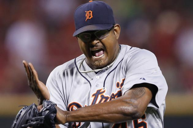 Tigers Closer Throwing Spitballs?