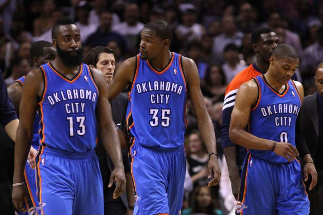 Power Ranking the Heat, Thunder and Every NBA Team's 'Big 3'
