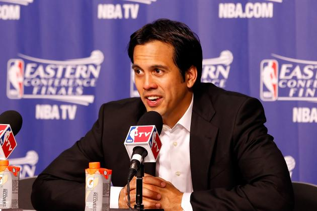 Erik Spoelstra vs. Scott Brooks: Analyzing Difference in Each Coach's Philosophy