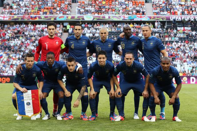 Euro 2012: French Players Sound off on Their 1-1 Draw with England