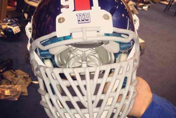 Justin Tuck Facemask: Giants DE Turning Heads with Unique New Look