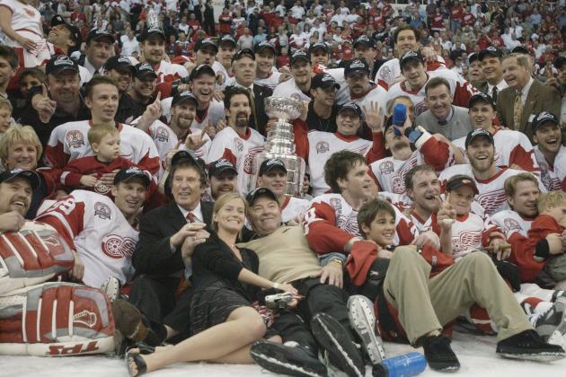2002 Detroit Red Wings: 10 Year Anniversary of a Hall of Fame Team