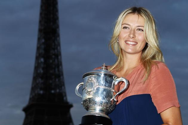 French Open Tennis 2012: Maria Sharapova Leaves Paris as an All-Time Great