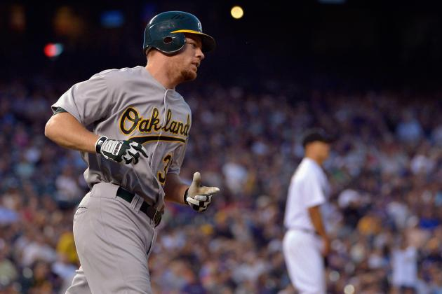 A's Erase Early Deficit with 6-Run 3rd Inning and Tap the Rockies 8-5