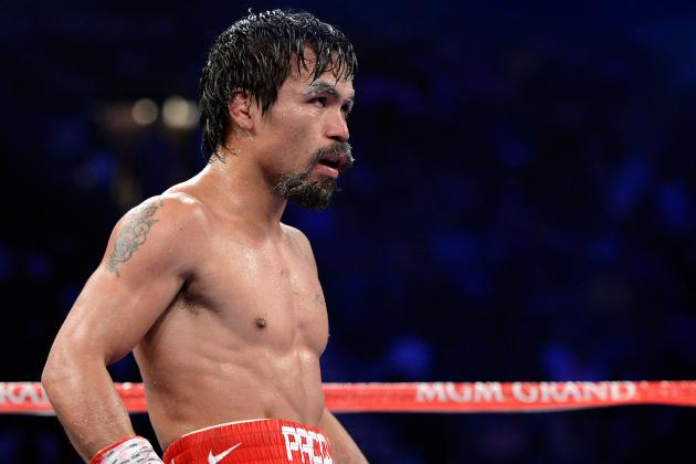 Pacquiao vs. Bradley Results: Pac-Man Will Bounce Back from Shocking Decision