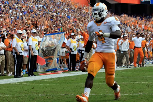 SEC Football Top 150 Players: No. 78, Marlin Lane, Tennessee RB