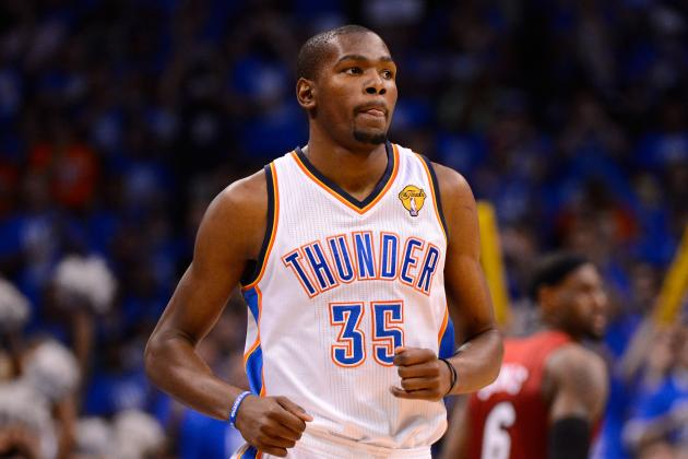 Oklahoma City Thunder's Kevin Durant: NBA's New King