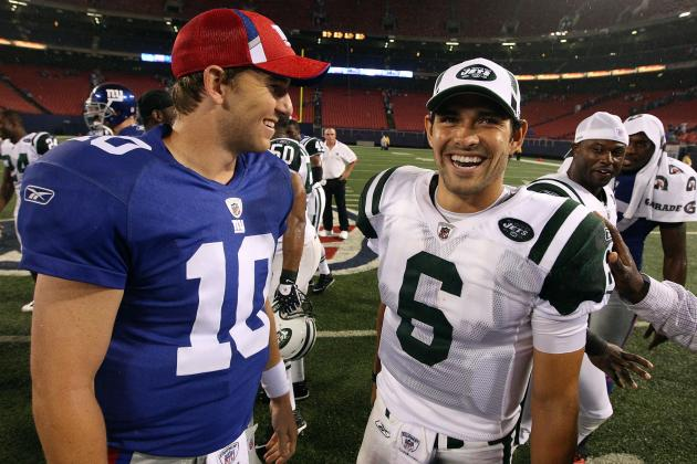 Debate: Who Will Have a Better 2012 -- Giants or Jets?