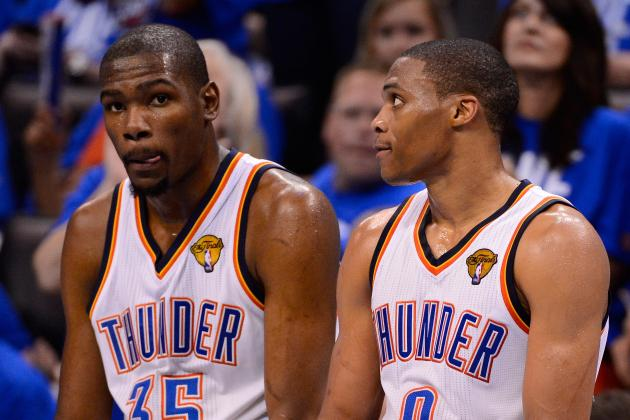 NBA Finals: Durant, Westbrook Join Legendary Duos with Game 1 Scoring Outburst