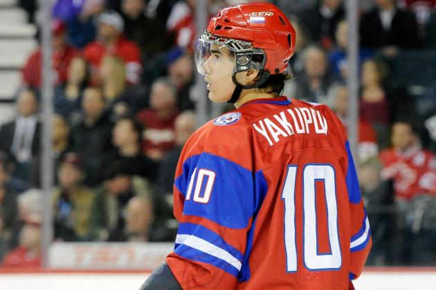 2012 NHL Mock Draft:  Nail Yakupov to Go First Overall