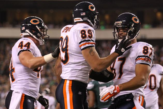 Chicago Bears Show Two TE Personnel in the New Mike Tice Offense