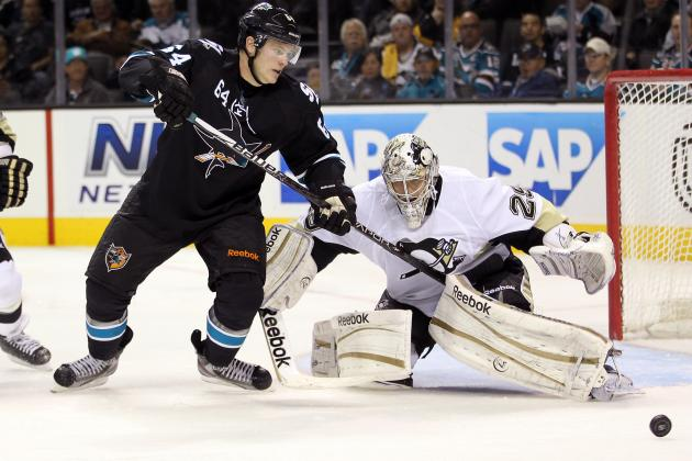 2011-12 San Jose Sharks: Jamie McGinn vs. T.J. Galiardi & Daniel Winnik