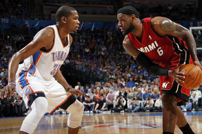 NBA Finals 2012: Oklahoma City Thunder vs. Miami Heat Game 2 Preview