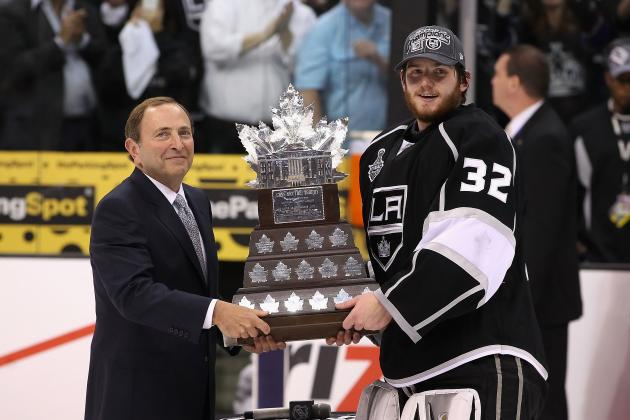 2012 Stanley Cup Final: Jonathan Quick and College Company Claim L.A.'s 1st Cup