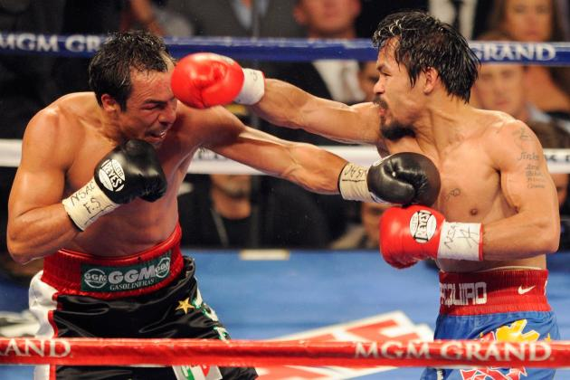 Report: Manny Pacquiao to Face Juan Manuel Marquez in November, Not Tim Bradley
