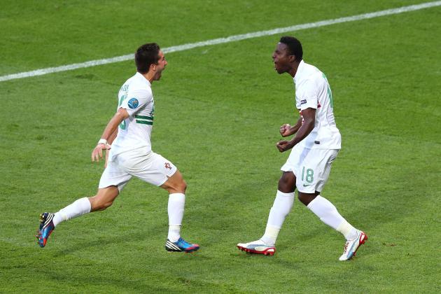 Denmark vs Portugal Euro 2012: Silvestre Varela's Heroics Save Cristiano Ronaldo