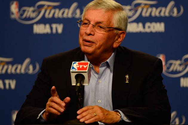 David Stern Deserves Chorus of Boos for Jim Rome Wife-Beating Question