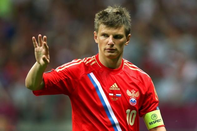 Andrei Arshavin Excelling at the Euros Is a Win-Win Situation for Arsenal