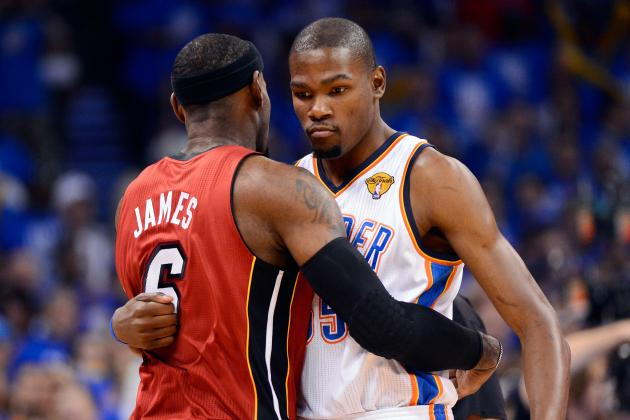 NBA Finals 2012: How LeBron James Should Defend Kevin Durant