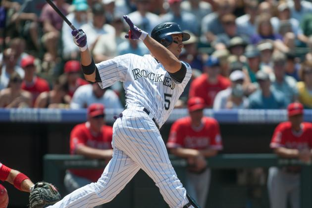 Carlos Gonzalez Not Starting Tonight vs. Athletics
