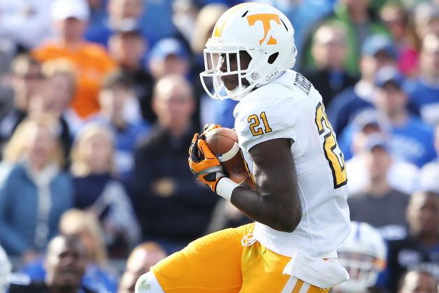 Breaking Down Tennessee WR Da'Rick Rogers