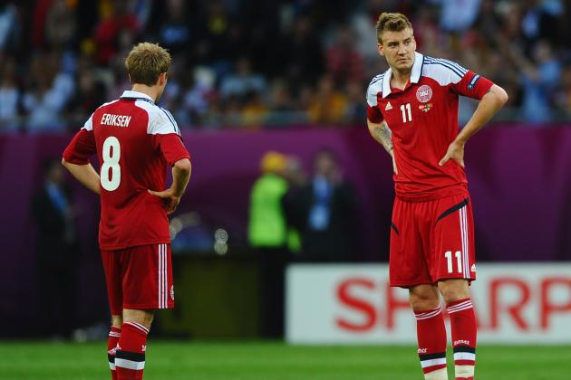 Euro 2012 Scores: Handicapping Denmark's Chances After Loss to Portugal