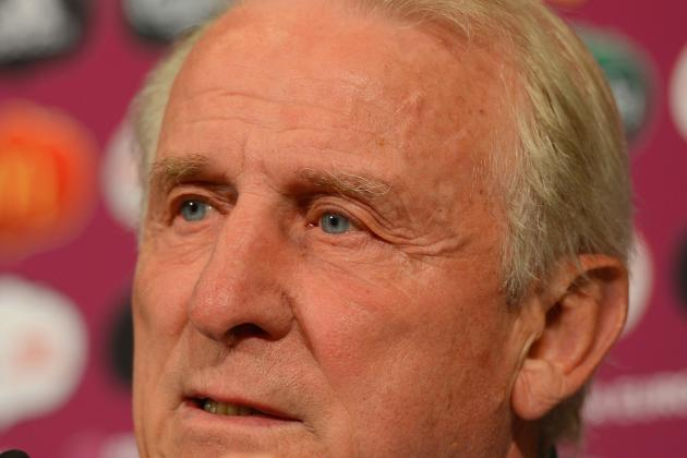 Euro 2012: Should Giovanni Trapattoni Change Ireland Formation Against Spain?